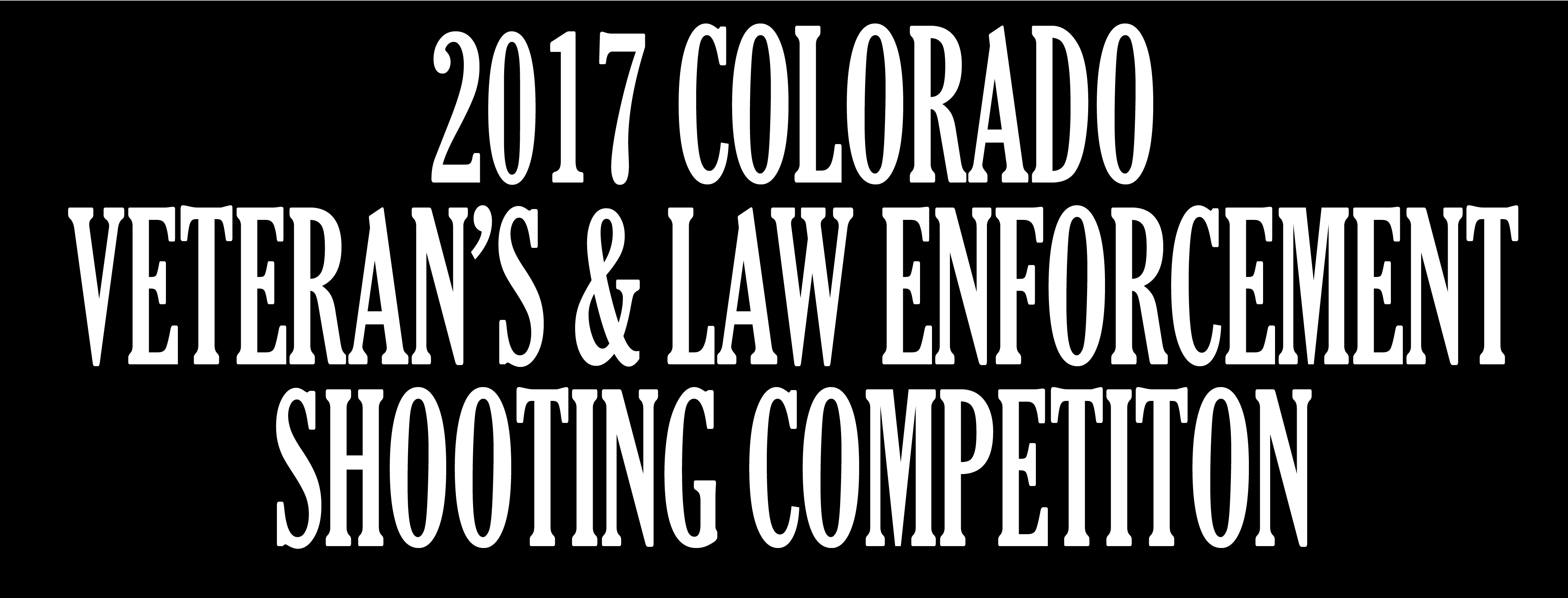 Colorado Veterans and Law Enforcement Competition